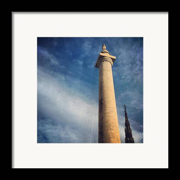 Mount Vernon Framed Print featuring the photograph Washington Monument by Toni Martsoukos