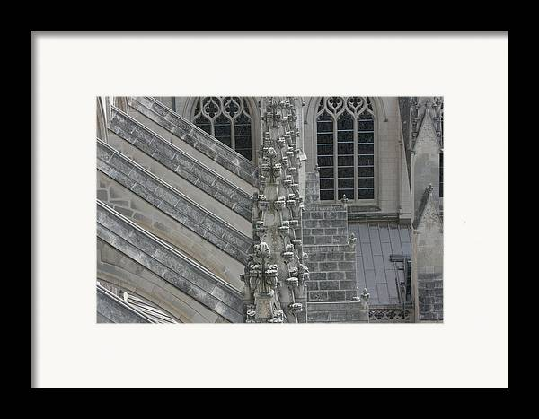 Alter Framed Print featuring the photograph Washington National Cathedral - Washington Dc - 0113111 by DC Photographer