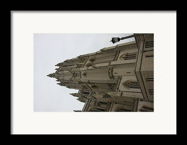 Alter Framed Print featuring the photograph Washington National Cathedral - Washington Dc - 011367 by DC Photographer