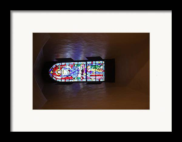 Alter Framed Print featuring the photograph Washington National Cathedral - Washington Dc - 011369 by DC Photographer