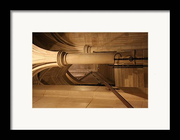 Alter Framed Print featuring the photograph Washington National Cathedral - Washington Dc - 011375 by DC Photographer