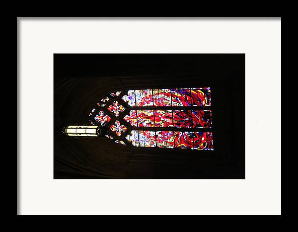Alter Framed Print featuring the photograph Washington National Cathedral - Washington Dc - 011377 by DC Photographer