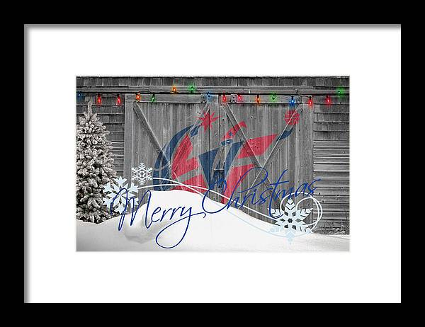 Wizards Framed Print featuring the photograph Washington Wizards by Joe Hamilton
