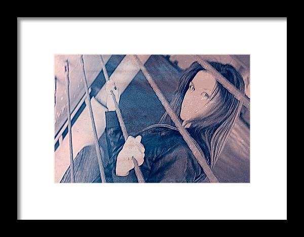 Model Framed Print featuring the photograph Watch by Heart On Sleeve ART