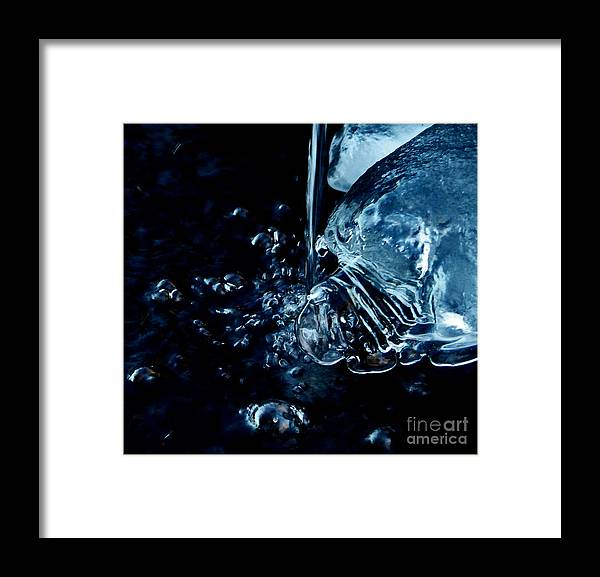 Wyoming Framed Print featuring the photograph Water Reveals by Wesley Hahn