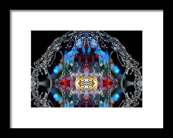 Water Framed Print featuring the photograph Water Scene 13 by Nataliya Kiryukhina
