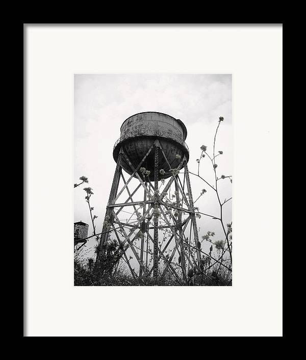 Watertower Framed Print featuring the photograph Water Tower by Michael Grubb