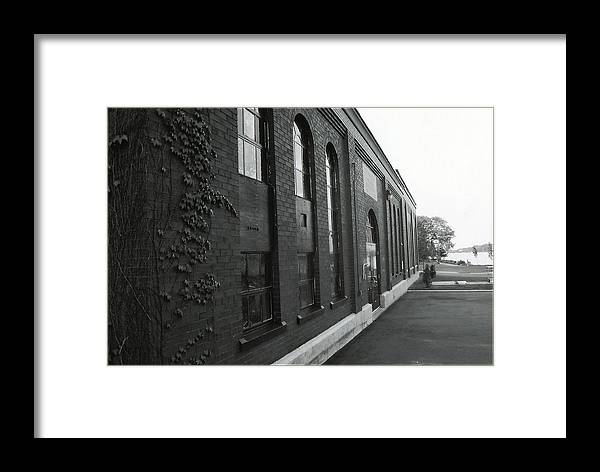 Framed Print featuring the photograph Water Works by Matthew Barton