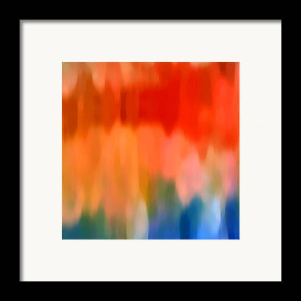 Watercolor Framed Print featuring the painting Watercolor 1 by Amy Vangsgard
