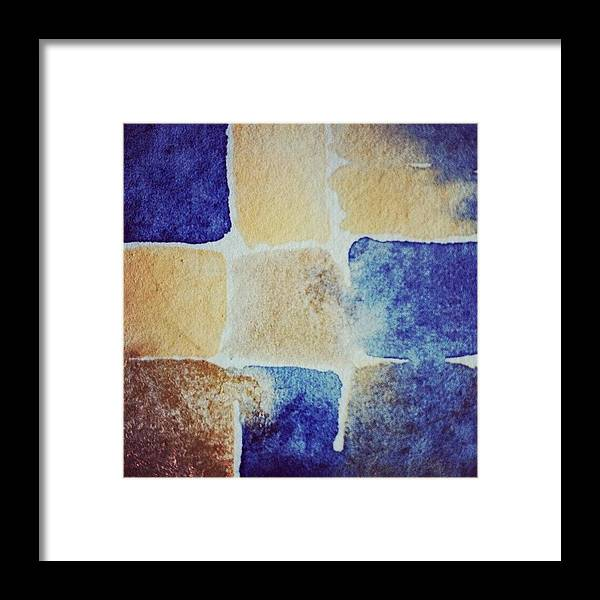 Watercolor Framed Print featuring the photograph Watercolour by Nic Squirrell