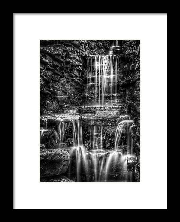 Waterfall Framed Print featuring the photograph Waterfall by Scott Norris