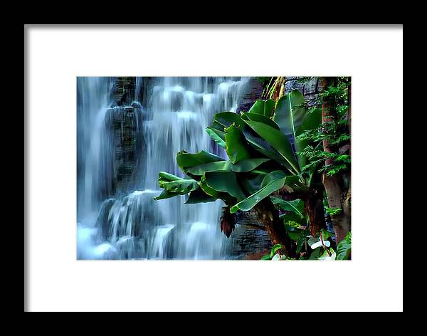 Waterfalls Framed Print featuring the photograph Waterfalls by Toby Horton