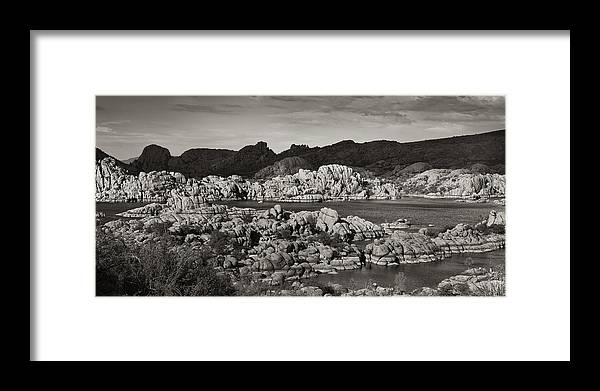 Lake Framed Print featuring the photograph Watson Lake #30 by John Nelson