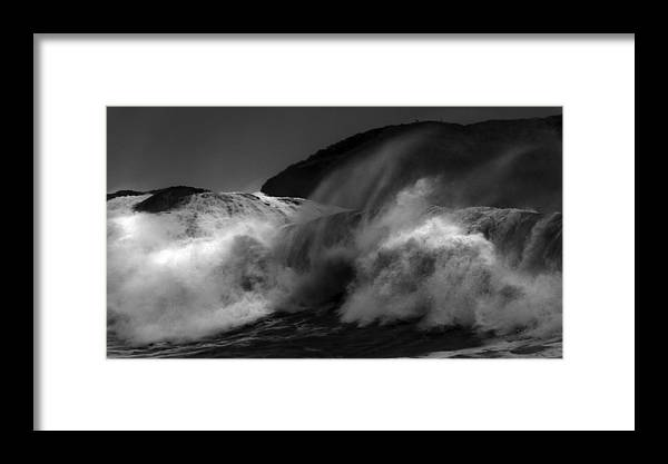 Wave Framed Print featuring the photograph Wave by Alasdair Turner
