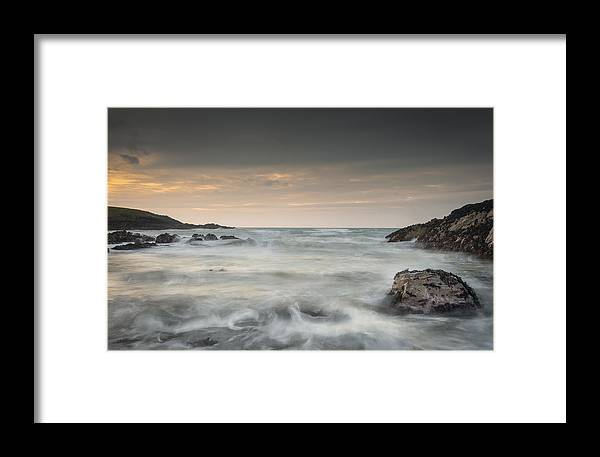Bay Framed Print featuring the photograph Waves In Motion by Andy Astbury