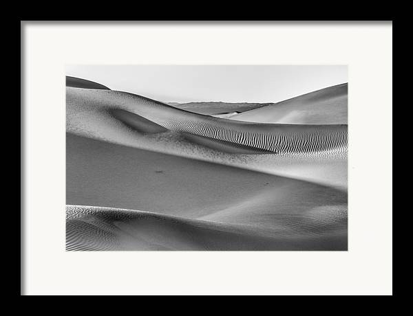 Sky Framed Print featuring the photograph Waves Of Sand IIi by Jon Glaser