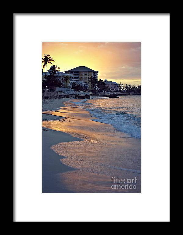 Bahamas Framed Print featuring the photograph Waves Of Sunlight by Alanna DPhoto