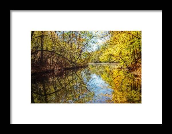 Fall Framed Print featuring the photograph Waxen Autumn 2 by Susan McMenamin
