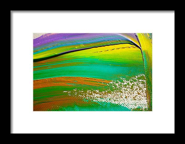 Paint Framed Print featuring the painting We Paint 5 by Jacqueline Athmann