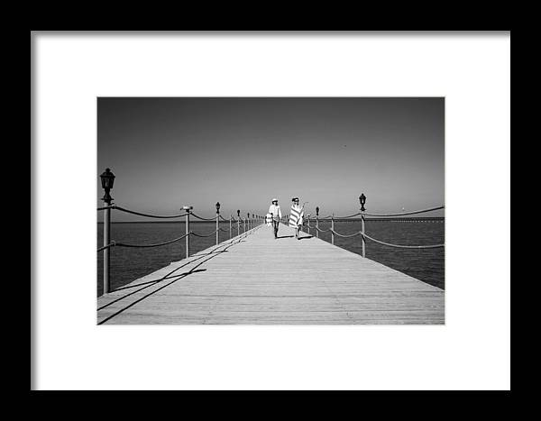 Jezcself Framed Print featuring the photograph We Will Return by Jez C Self