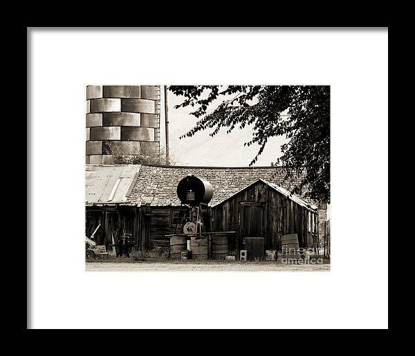 Photography Framed Print featuring the photograph Weathered by Jackie Farnsworth