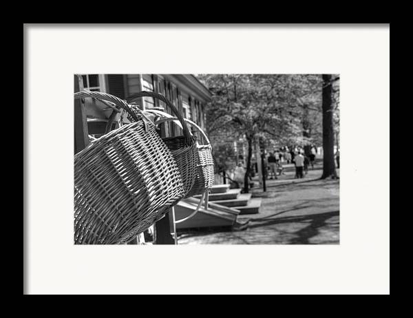 Williamsburg Framed Print featuring the photograph Weaving The Past by Greg and Chrystal Mimbs