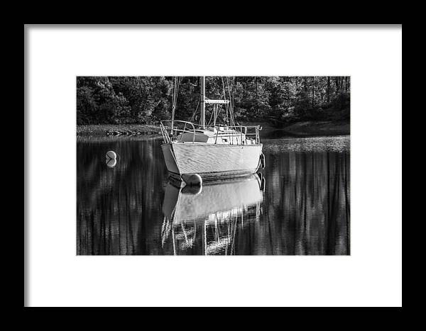Sailboat Framed Print featuring the photograph Weekend Pleasure by Randy Wood