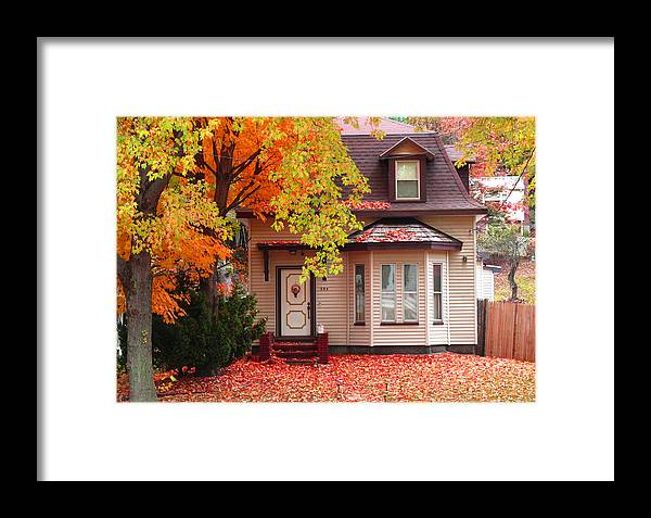 Foliage Framed Print featuring the photograph Weekend Work by Barbara McDevitt