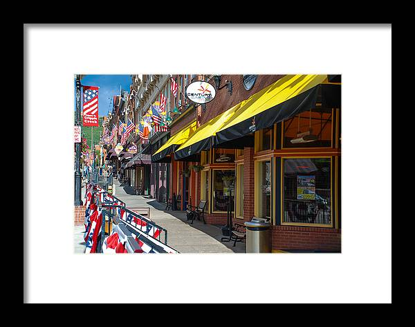 Colorado Framed Print featuring the photograph Welcome To Cripple Creek by Dany Lison