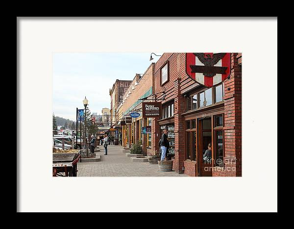 Tahoe Framed Print featuring the photograph Welcome To Truckee California 5d27445 by Wingsdomain Art and Photography