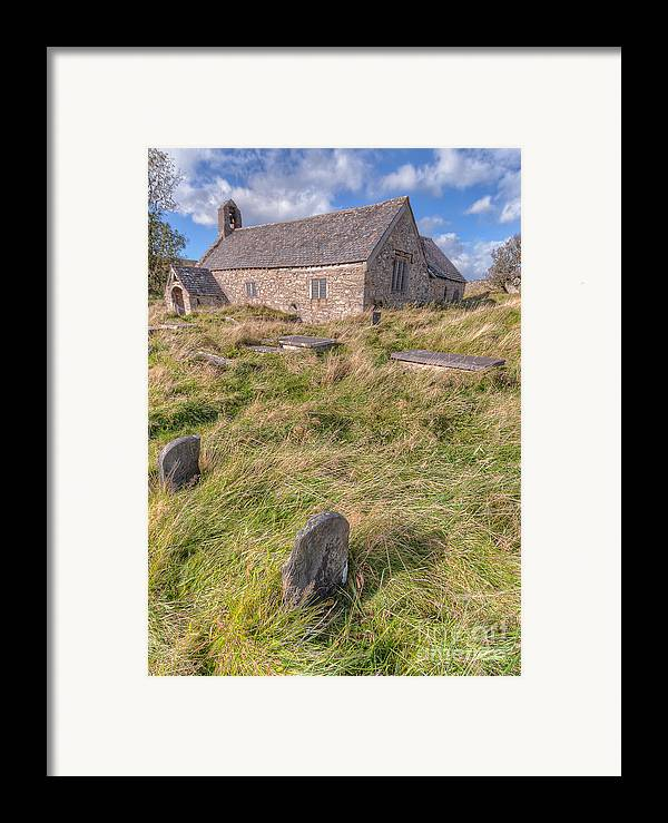 Architecture Framed Print featuring the photograph Welsh Tombs by Adrian Evans