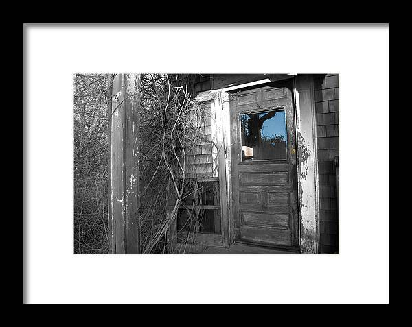Marshfield Framed Print featuring the photograph West Barnstable Door by David DeCenzo