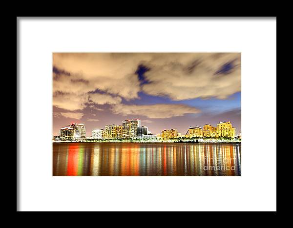 West Palm Beach Framed Print featuring the photograph West Palm Beach by Denis Tangney Jr