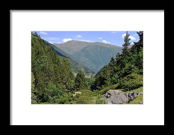 Valley Framed Print featuring the photograph West Valley Andorra by Miguel Ramos