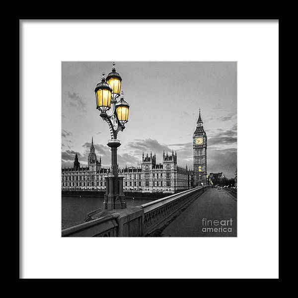 Westminster Framed Print featuring the photograph Westminster Morning by Colin and Linda McKie
