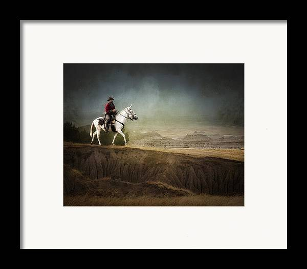 Landscape Framed Print featuring the photograph Westward by Ron McGinnis