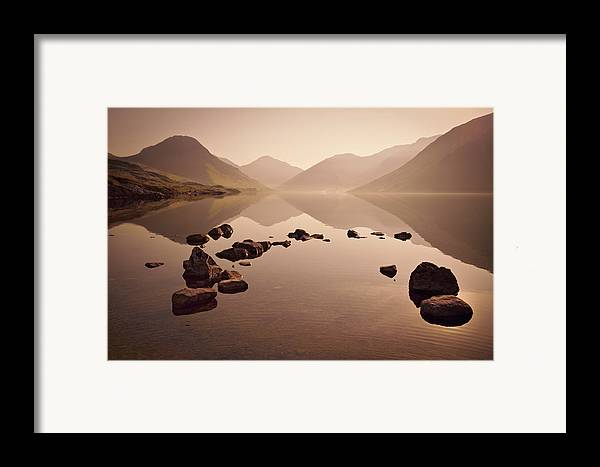 Dawn Framed Print featuring the photograph Wetlands Mornings by Evelina Kremsdorf
