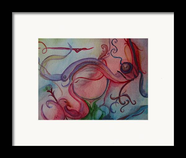 Pipe Art Framed Print featuring the painting What A Pipe by Marian Hebert