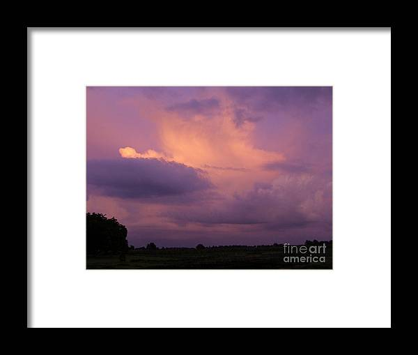Sky Framed Print featuring the photograph What A Skyview Two by Scott B Bennett