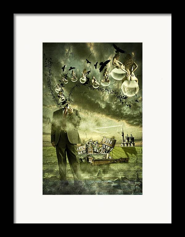 Art Framed Print featuring the photograph What Are You Thinking by Nathan Wright