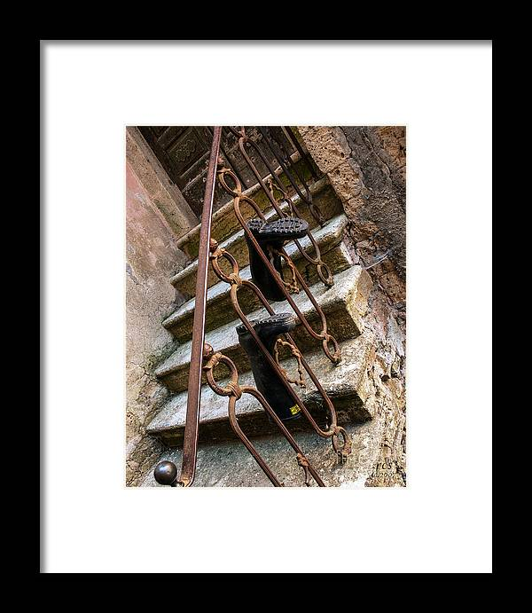 Richard Smukler Photography Framed Print featuring the photograph What Is Up by Richard Smukler