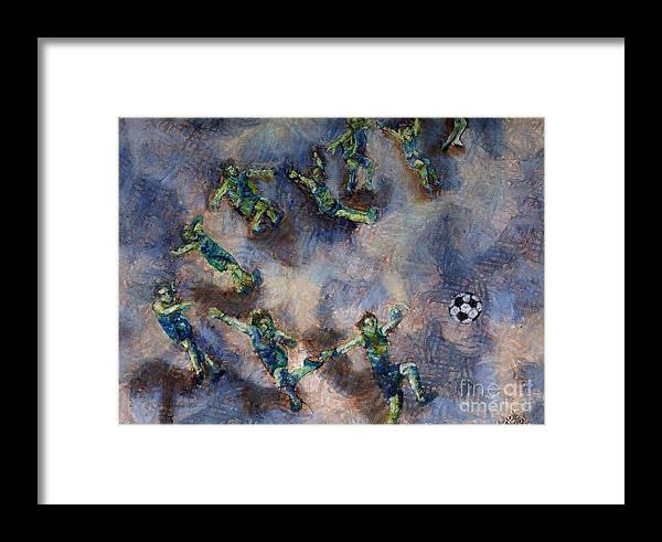 Dance Framed Print featuring the mixed media Whatever by Sanet Visser