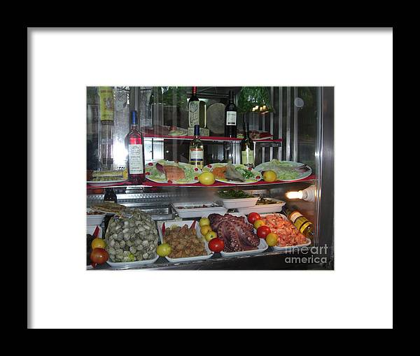 Madrid Framed Print featuring the photograph What's For Dinner by Deborah Smolinske