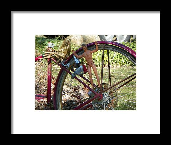 Barbie Framed Print featuring the photograph Wheel Of Fortune by Bernie Smolnik