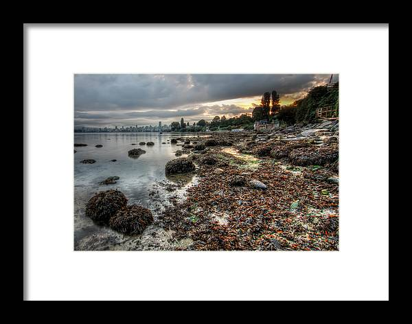 Beautiful Framed Print featuring the photograph When I'm Up At Sunrise by James Wheeler