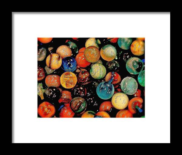 Planets Framed Print featuring the photograph When Worlds Collide by Ira Shander
