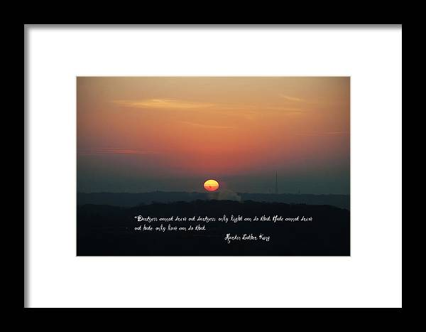 Darkness Framed Print featuring the photograph Where Do We Go From Here by Bill Cannon