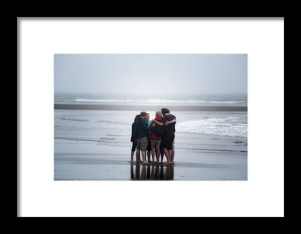 Ocean Framed Print featuring the photograph Where Two Or More Are Gathered by Kevin Clifford