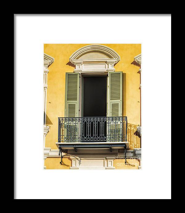 Balcony Framed Print featuring the photograph Where's Juliet? by Karen Lewis