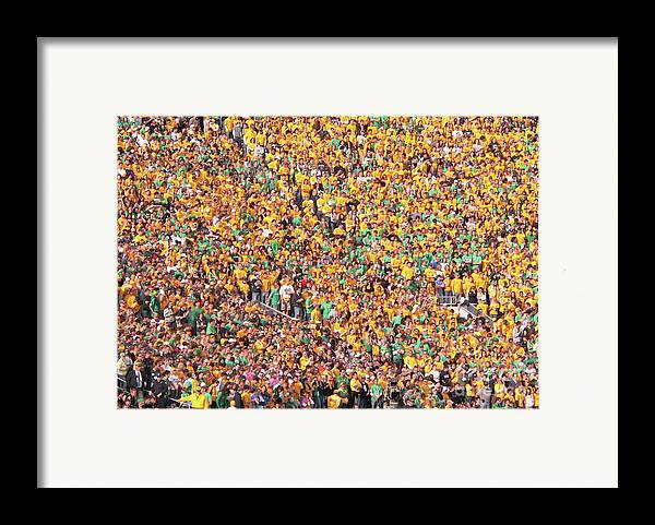 Notre Dame Framed Print featuring the photograph Where's Waldo by David Bearden
